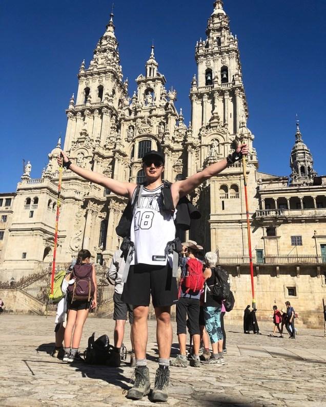 Jung Il-woo walking El Camino de Santiago. May 2019 28.JPG