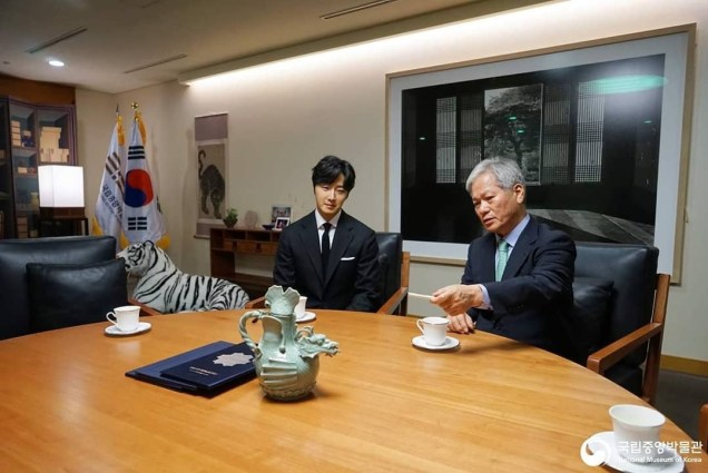 2015 6 142018 12 3 Jung Il-woo is appointed ambassador to the National Museum of Korea. Xtra 6.JPG