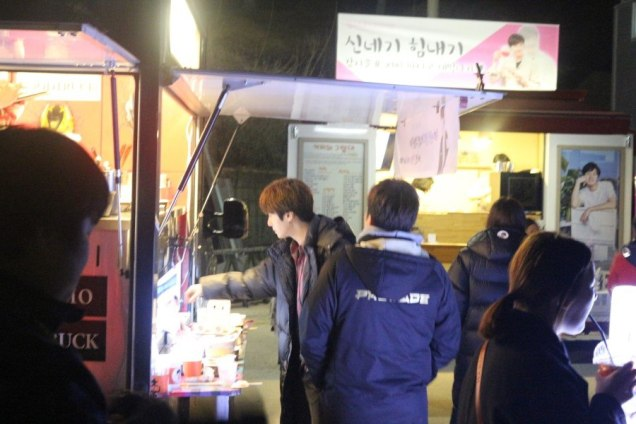 2016 8 19 Jung Il-woo in Cinderella and the Four Knights. Episode 3. Behind the Scenes. Cr. Various. 4
