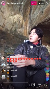 2019-6-25 Jung Il-woo live from Gangwon-do, South Korea for KBS. 18