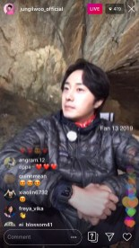 2019-6-25 Jung Il-woo live from Gangwon-do, South Korea for KBS. 2