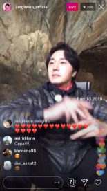 2019-6-25 Jung Il-woo live from Gangwon-do, South Korea for KBS. 21