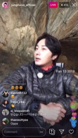 2019-6-25 Jung Il-woo live from Gangwon-do, South Korea for KBS. 3