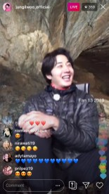 2019-6-25 Jung Il-woo live from Gangwon-do, South Korea for KBS. 54