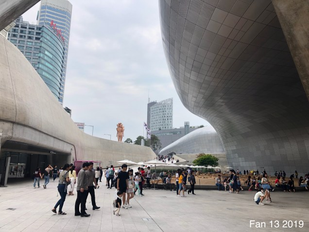 2019 6 9 The Deongdaemun Design Plaza. (DDP) By Fan 13. 12