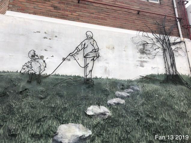 2019 8 10 Ihwa Mural Village in Seoul. By Fan 13. 10