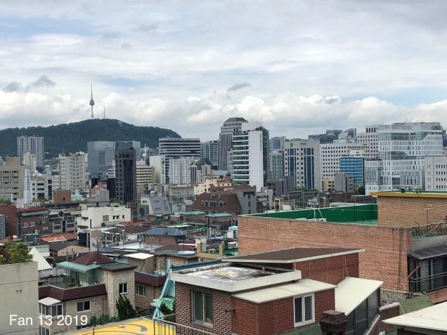 2019 8 10 Ihwa Mural Village in Seoul. By Fan 13. 12