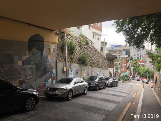 2019 8 10 Ihwa Mural Village in Seoul. By Fan 13. 2