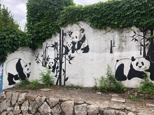 2019 8 10 Ihwa Mural Village in Seoul. By Fan 13. 4