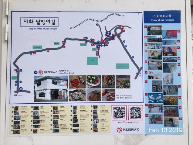 2019 8 10 Ihwa Mural Village in Seoul. By Fan 13. 7