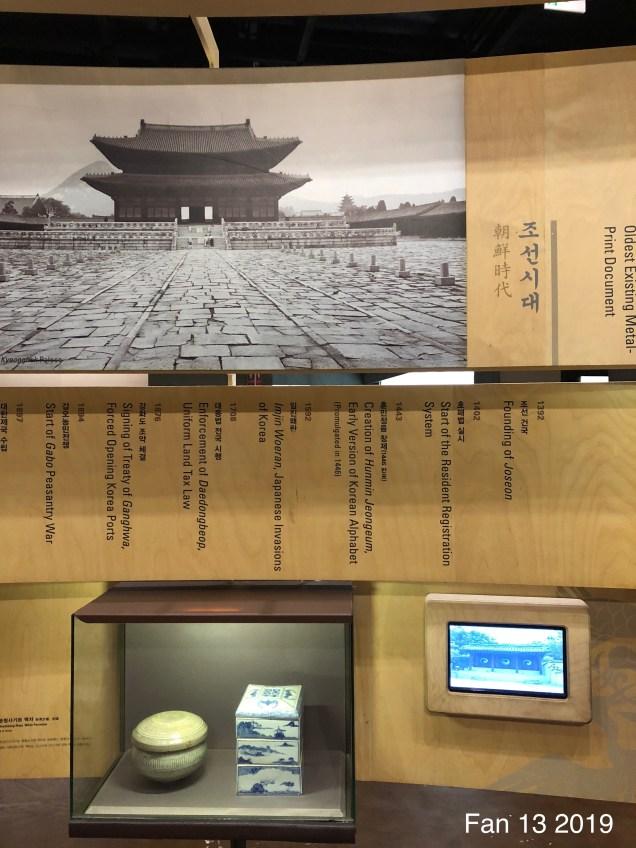 2019 National Korean Folk Art Museum by Jung Il-woo's Fan 13.7