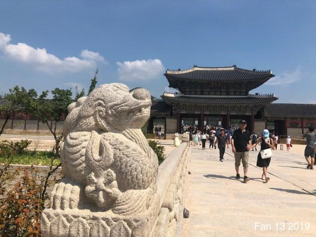 Gyeongboksung Palace. www.jungilwoodelights.com Cr. Fan 13. 2019 10