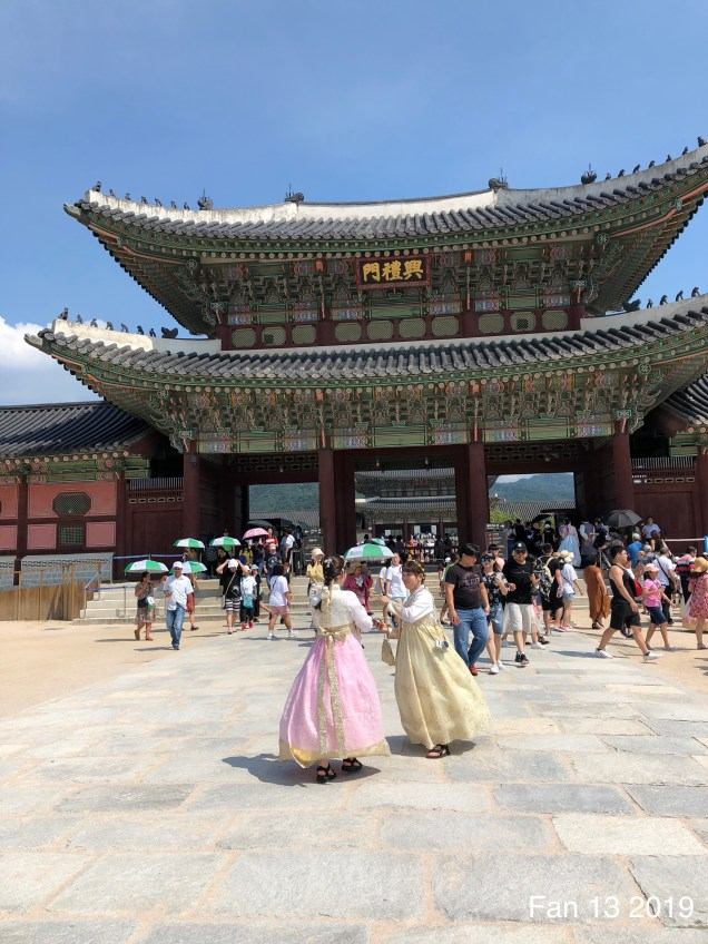 Gyeongboksung Palace. www.jungilwoodelights.com Cr. Fan 13. 2019 8
