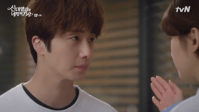 Jung Il-woo in Cinderella and the Four Knights. Episode 4. Cr. tvN Screen Captures by Fan 13. 23