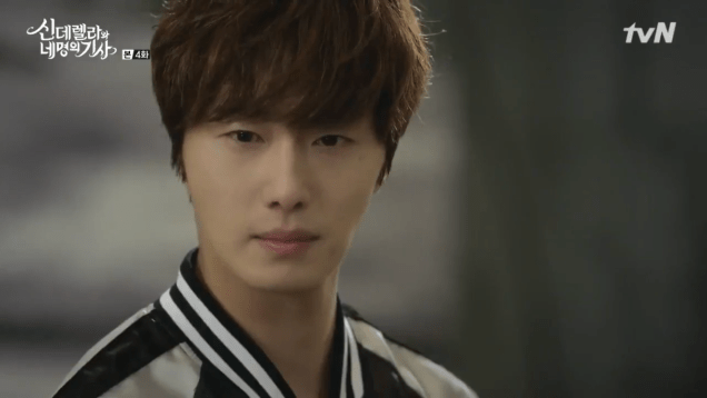 Jung Il-woo in Cinderella and the Four Knights. Episode 4. Cr. tvN Screen Captures by Fan 13. 77