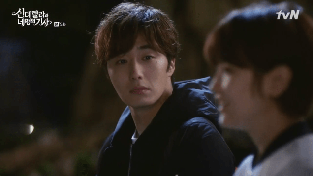 Jung Il-woo in Cinderella and the Four Knights. Episode 5. Cr. tvN Screen Captures by Fan 13. 102