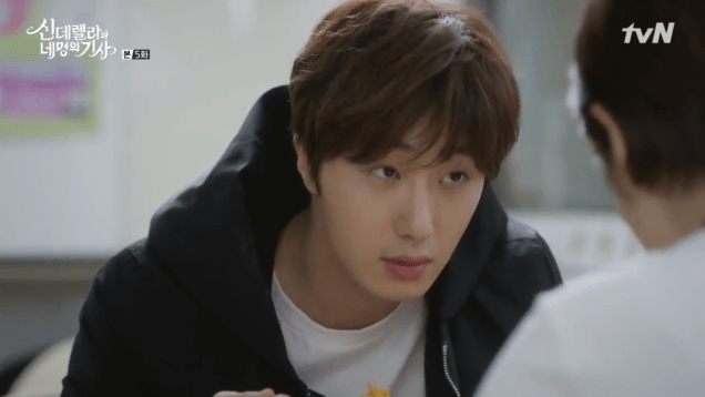 Jung Il-woo in Cinderella and the Four Knights. Episode 5. Cr. tvN Screen Captures by Fan 13. 112