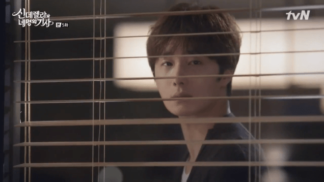 Jung Il-woo in Cinderella and the Four Knights. Episode 5. Cr. tvN Screen Captures by Fan 13. 12