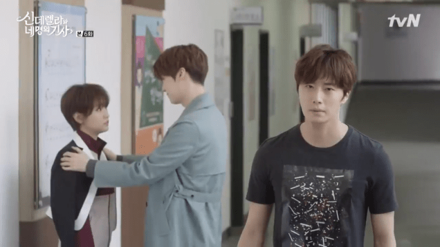 Jung Il-woo in Cinderella and the Four Knights. Episode 6. Cr. tvN Screen Captures by Fan 13. 52
