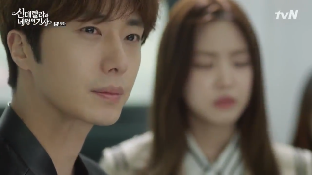 Jung Il-woo in Cinderella and the Four Knights. Episode 6. Cr. tvN Screen Captures by Fan 13. 58