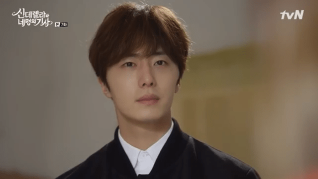 Jung Il-woo in Cinderella and the Four Knights. Episode 7. Cr. tvN Screen Captures by Fan 13. 56