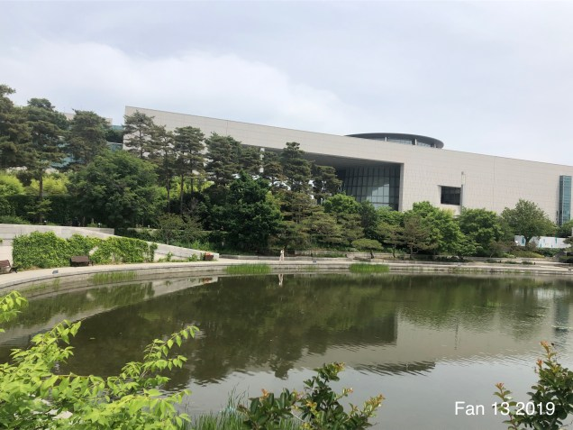 The National Museum of Korea. By Jung Il-woo's Fan 13. For www.jungilwoodelights.com 34