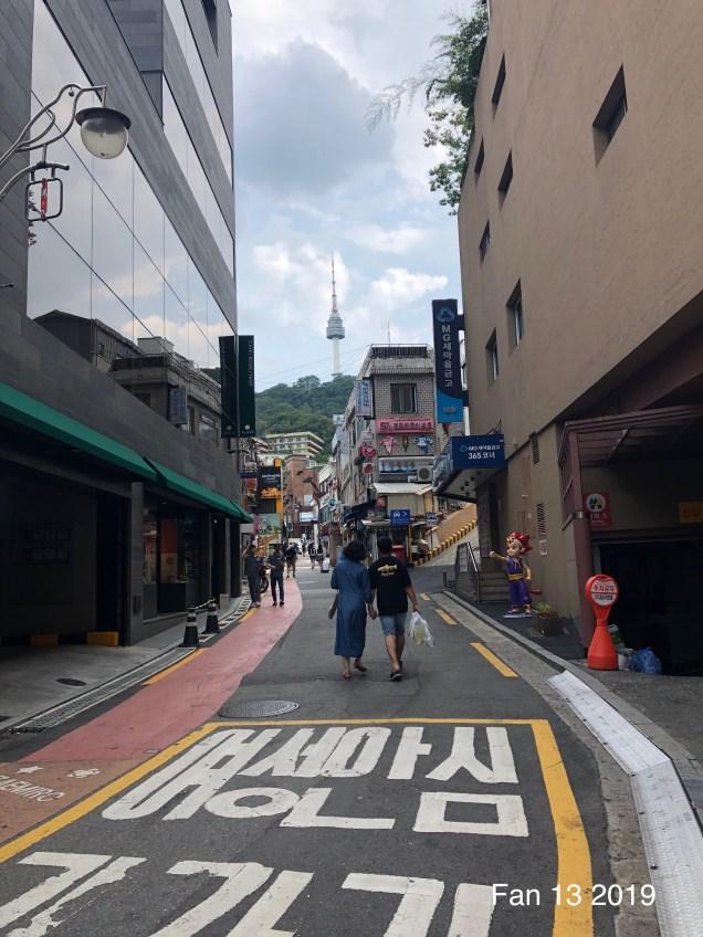 Myeondong Area by Fan 13. 7