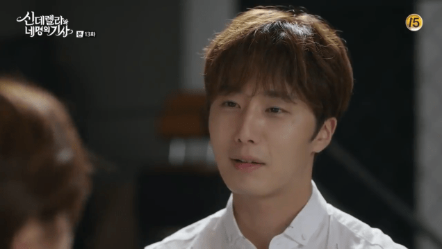 2016 9 23. Jung Il-woo in Cinderella and the Four Knights Episode 13. Cr. tvN. 13