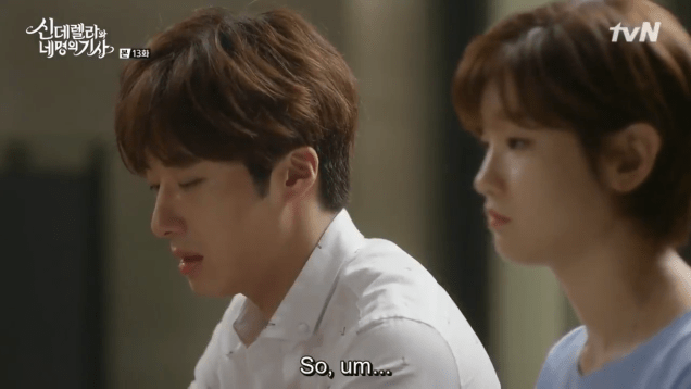 2016 9 23. Jung Il-woo in Cinderella and the Four Knights Episode 13. Cr. tvN. 21