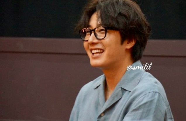 2019 7 21 Jung Il-woo at the Q & A session of the screening of the movie Black Summer. Cr. @ smilil 15