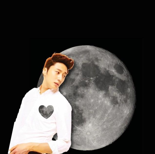 Ilwoo on the moon. Cr. Fan13 and Kwon Yoon-sung 4