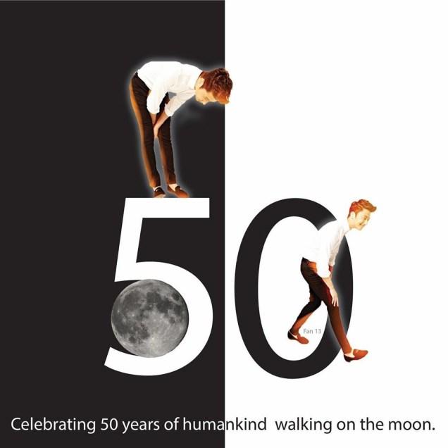 Ilwoo on the moon. Cr. Fan13 and Kwon Yoon-sung 5