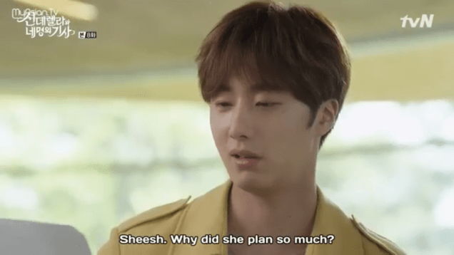 Jung Il-woo in Cinderella and the Four Knights. Episode 8. Cr. tvN Screen Captures by Fan 13. .PNG11