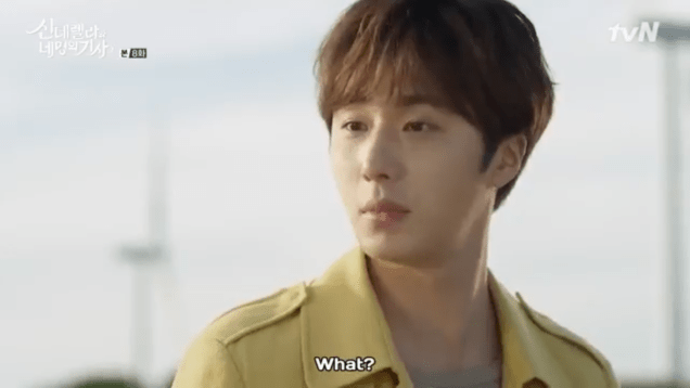 Jung Il-woo in Cinderella and the Four Knights. Episode 8. Cr. tvN Screen Captures by Fan 13. .PNG2