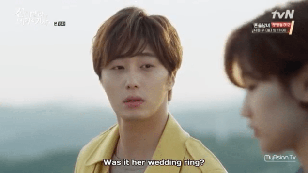 Jung Il-woo in Cinderella and the Four Knights. Episode 8. Cr. tvN Screen Captures by Fan 13. .PNG52