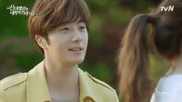 Jung Il-woo in Cinderella and the Four Knights. Episode 8. Cr. tvN Screen Captures by Fan 13. .PNG62
