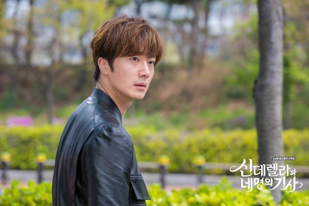 2016 5 Jung Il-woo in Cinderella and the Four Knights Episode 1. Fan Taken. Cr. On Photo. 17