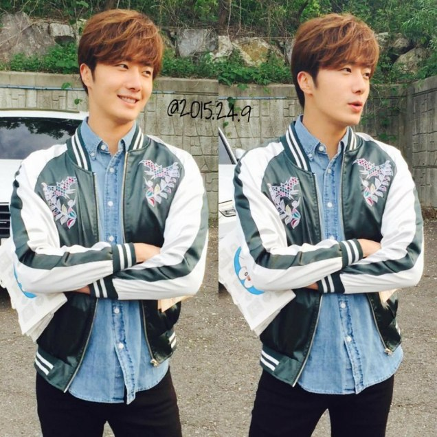 2016 Jung Il-woo in Cinderella and the Four Knights Behind the Scenes. Cr. 2015.24.9 3
