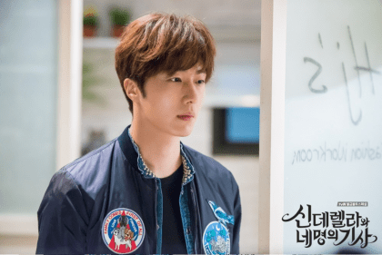 2016 Jung Il-woo in Cinderella and the Four Knights. Behind the Scenes. Website. Cr. tvN 3