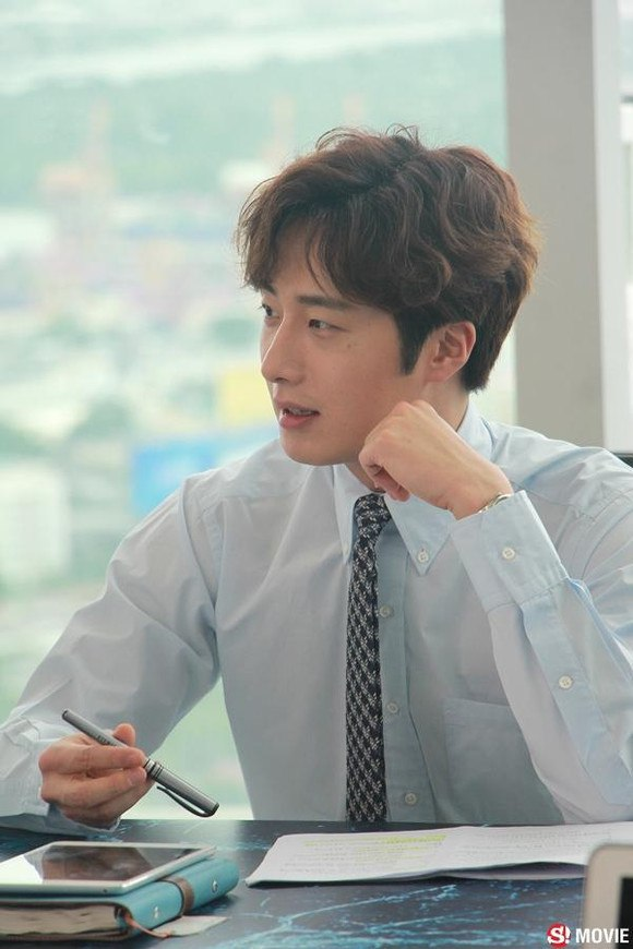 2019 7 3 Jung Il-woo at the Press Conference for Love and Lies Filming Part. Cr. On Photos. 2