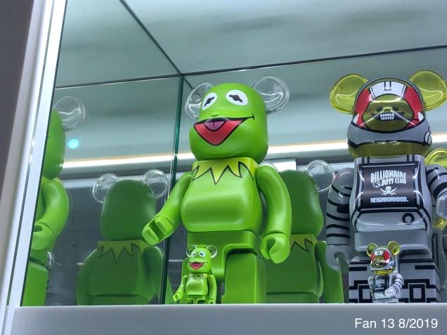 2019 8 Frog Encounters in NYC. Fan 13. 5