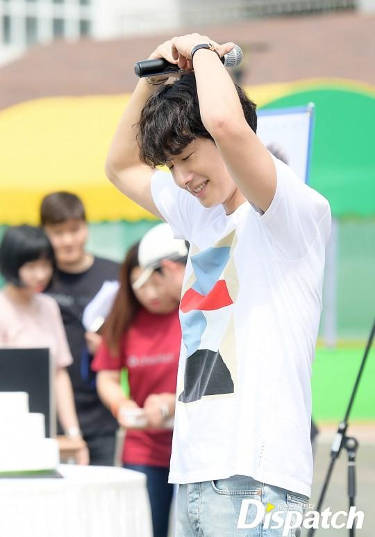 2016 9 4 Jung Il-woo Fan Meeting: Rail Trip with Jung Il-woo. Cr. Starcast, Disparch and Jung Il-woo.com 10