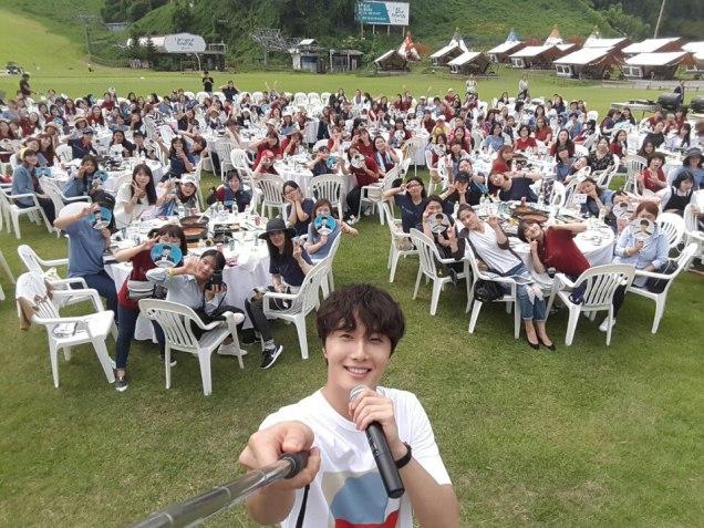 2016 9 4 Jung Il-woo Fan Meeting: Rail Trip with Jung Il-woo. Cr. Starcast, Disparch and Jung Il-woo.com 2