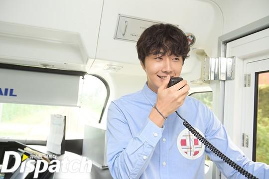 2016 9 4 Jung Il-woo Fan Meeting: Rail Trip with Jung Il-woo. Cr. Starcast, Disparch and Jung Il-woo.com 4