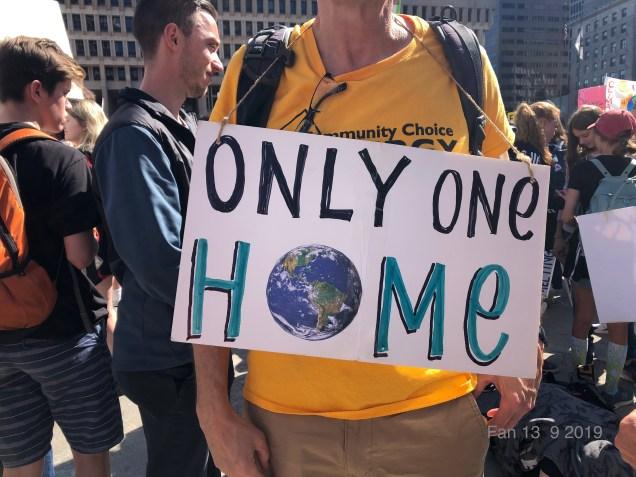 2019 9 20 Climate Change Strike. Boston, Mass. USA taken by Fan 13. 12
