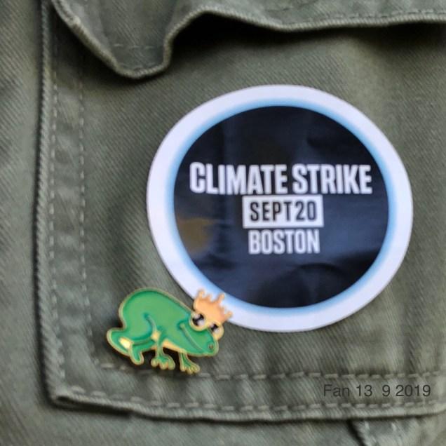 2019 9 20 Climate Change Strike. Boston, Mass. USA taken by Fan 13. 4