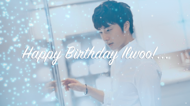 Happy Birthday Ilwoo! 2019 1 By Fan 14