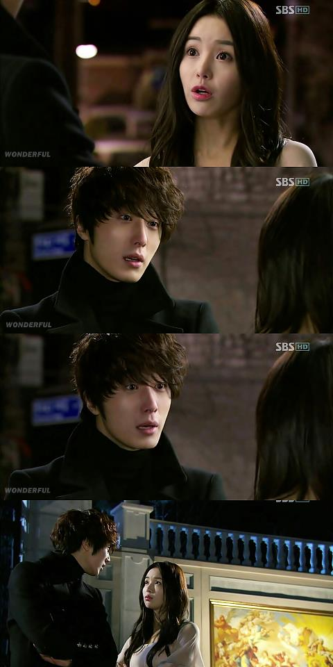 2011 Jung Il woo as The Scheduler in 49 Days. Black Jacket. 6.jpg
