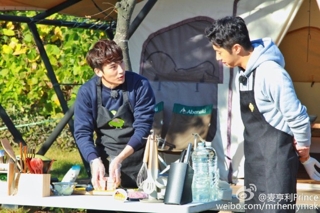 2016 11 Jung Il-woo in Star Shop. Cooking Outside. 6