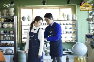 2016 11 Jung Il-woo in Star Shop. Making pottery. 12